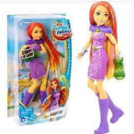 Muñeca Super Hero Girls Starfire dc