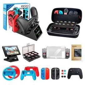 Kit de accesorios para Nintendo Switch - 12 ACCESORIOS para tu consola