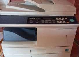 Impresora láser 2 bandejas  re. AL-2050CS SHARP