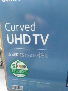 TV SAMSUMG CURVE SERIE 6 49¨