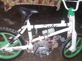 moto modelo bmx con motor