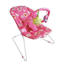Silla vibradora para bebés descanso colores