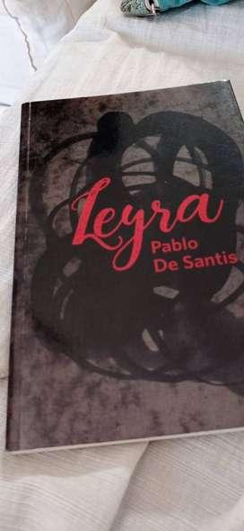 libro Leyra de Pablo De Santis (usado)