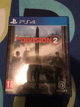The Division 2 Juego de Ps4