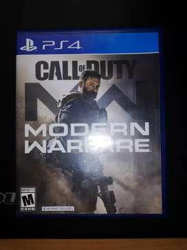 CALL OF DUTY MODERN WARFARE-PS4