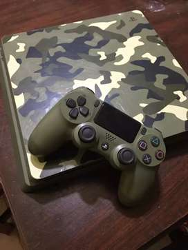 Vendo PS4 edición limitada WWII