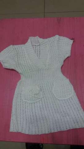 Vestidito Remera Nena de Dos a 4 Años