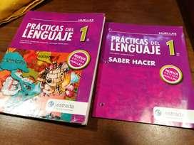 Prácticas del lenguaje 1 ES. Estrada + SABER HACER