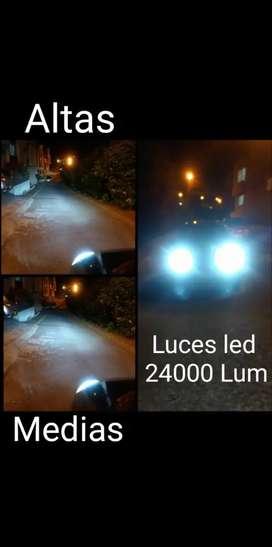 Bombillos LED H4 12000 lúmenes