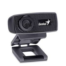 Cámara Genius Facecam 1000x Usb Black
