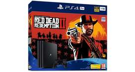 Ps4 Pro 4k Red Dead Redemption 2