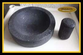 Piedra de moler de piedra volcánica  ENVÍO GRATIS