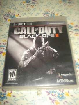 Juego Call Of Duty Black Ops Ii En Caja Con Manual Impecable