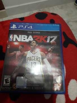 Juego de play 4 NBA2K17