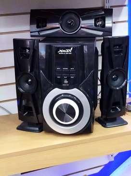 Equipo de sonido moderno