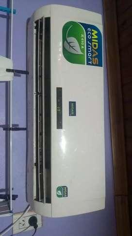 Vendo urgente aire acondicionado 3500 frigorías marca Midas