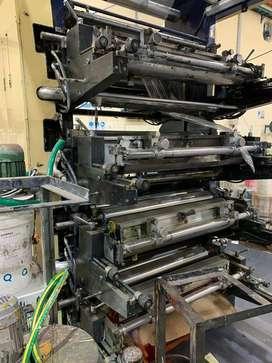 Impresora flexografica 8 colores