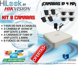 Cámaras IP 4 MP Hilook by Hikvision.
