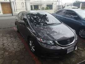 Honda civic 2014 excelente estado.