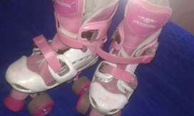 Patines rosa