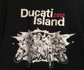 Camiseta Oficial Ducati Island 2012