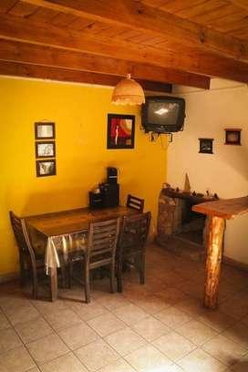 dh18 - Cabaña para 3 a 6 personas con cochera en Villa Ciudad Parque