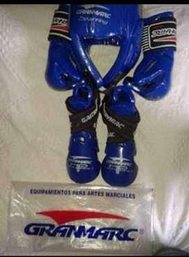 Protectores de lucha de taekwondo