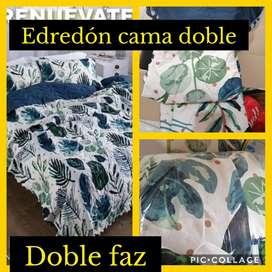 Edredón cama  doble