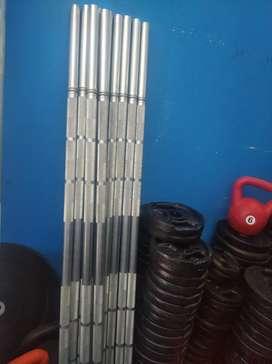 Barras Macizas  cromo de 150cm ( el precio es por unidad)