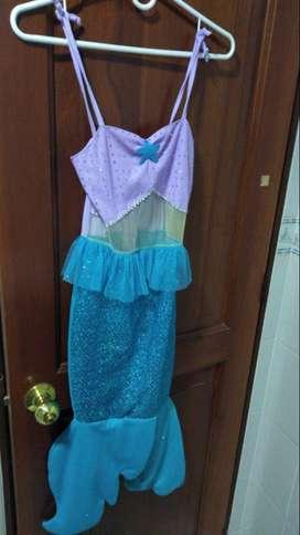 Disfraz de Sirena talla 10