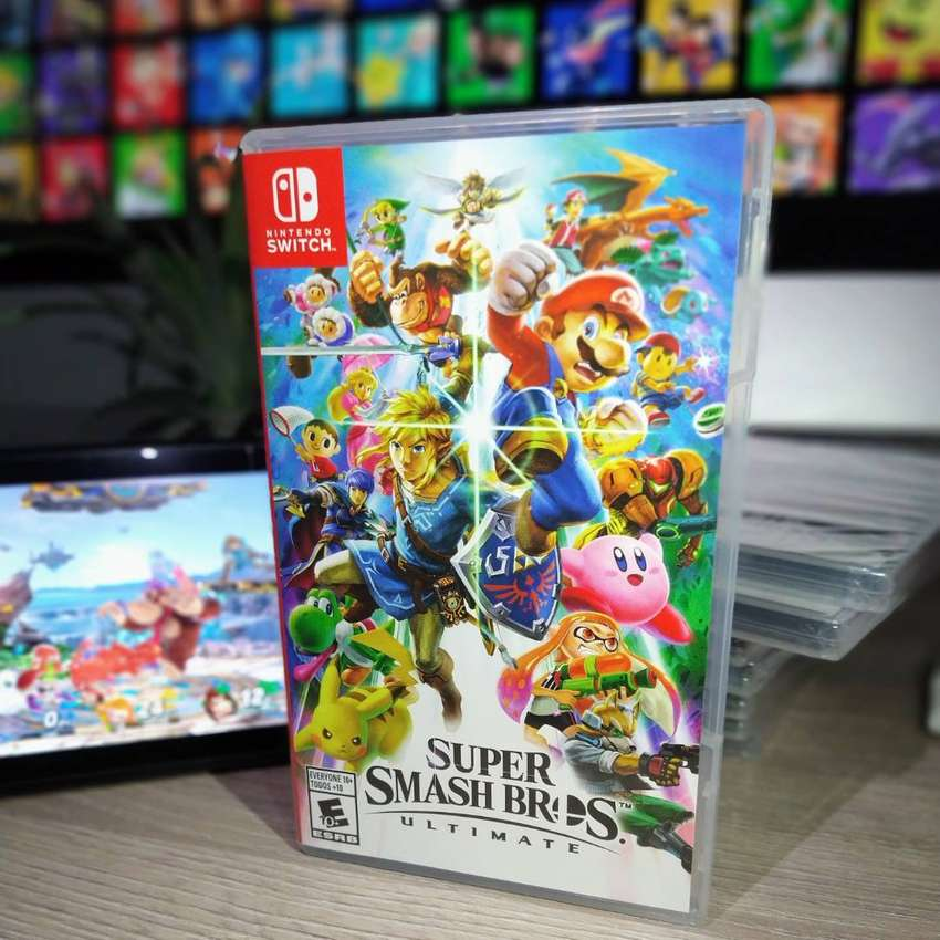 Super Smash Bros Ultimate Para Nintendo Switch 0