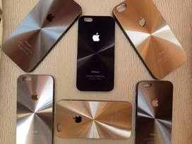 Funda iPhone 6,6plus Aluminio Cepillado