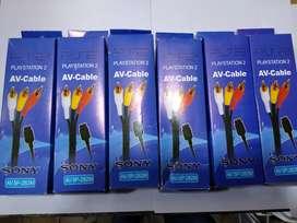 Vendo cable Av para Playstation1 playstation2 playstation3 nuevo en caja