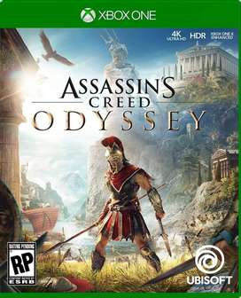 Assassins Creed Odyssey Xbox One, Físico