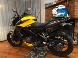Bajaj rouser ns200 impecable