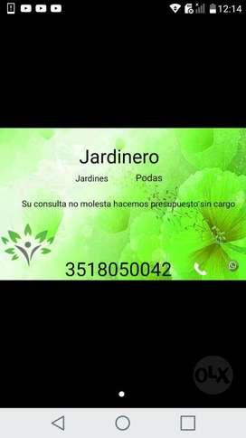Jardinero en Gral ,podas Y Limpieza