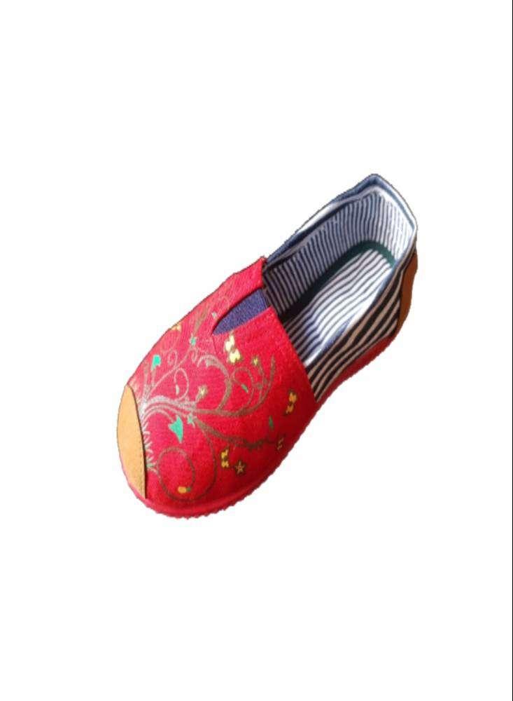 Zapatillas Suela Roja Con Ramas Verdes con envio gratuito