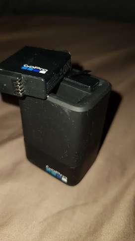 Cargador y baterías go pro