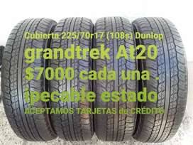 Neumaticos dunlop grandtrek At 20 225 /70r17
