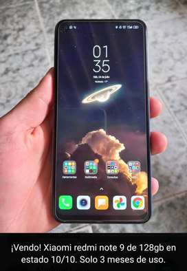 A la venta, Xiaomi Redmi Note 9 128 GB