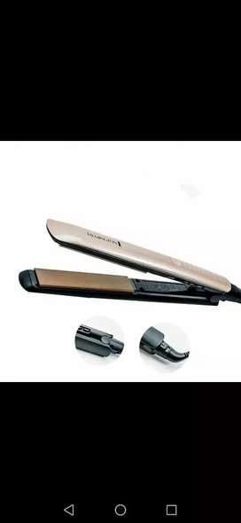 Plancha remington tecnología de keratina y aceite de argan