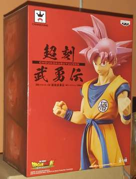 Banpresto/ GOKU SUPER SAIYAN GOD/ Dragon Ball Super/ Original/ Son Goku/