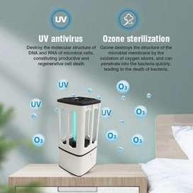 Lámparas germicida UV portátil para autos, baños etc.