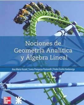 Nociomes de Geometria Analitica y Algebra lineal. Kozak