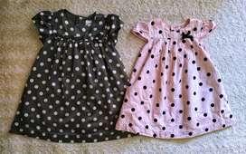 Vestidos para bebé Carter's 12 meses