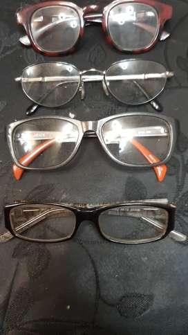 Lote de 5 armazones para gafas
