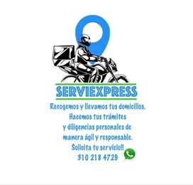 Servicio de mensajeria