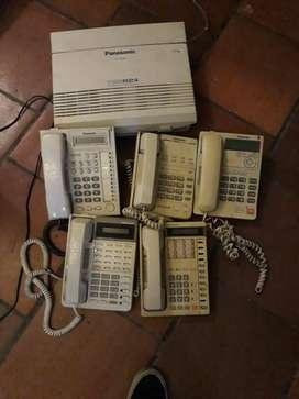 Vendo Planta Telefónica Panasonic