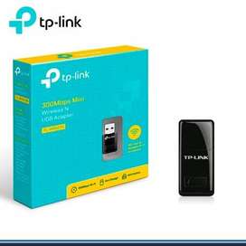 Adaptador USB Inalámbrico N 300Mbps TL-WN823N