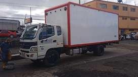 Camion con furgon 8 toneladas